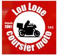 Lou Loue Coursier Moto